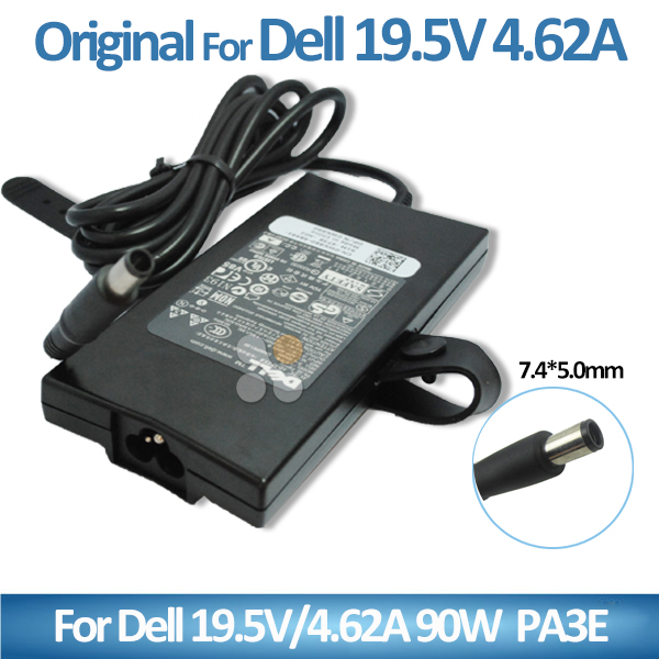 19.5V 4.62A 90W Power Supply for Dell 1735 1737 1745 1747 LA90PE0-01 PA-3E Family PA-1900-27D 3T6XF Laptop AC Adapter