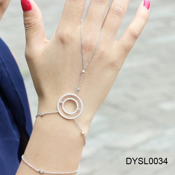 Как сделать браслет с кольцом