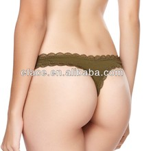 hot sell daily women cotton brief g-string