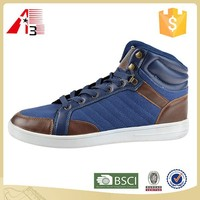 high quality rubber sole fashion men skate shoes