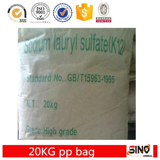 Sodium Lauryl Sulfate/ K12 /92% needle SLS