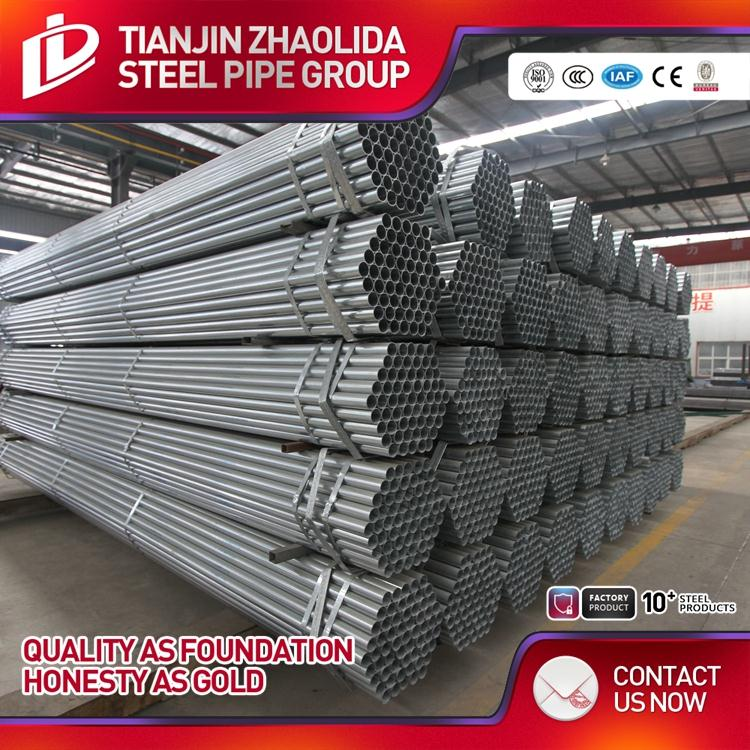 different sizes pre galvanized steel pipe square and rectangular hollow section