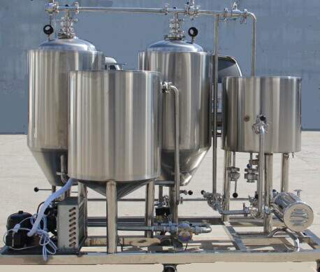 Automatic alcohol distillation beer making equipment