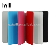 Smart cover and strong protective PU case for ipadmini from competitive factory, suit for OEM logo,mobile phone accessory