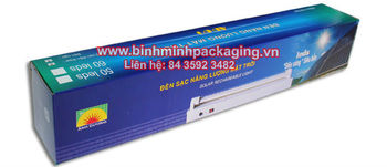 Solar Rechareable Light Packaging Box