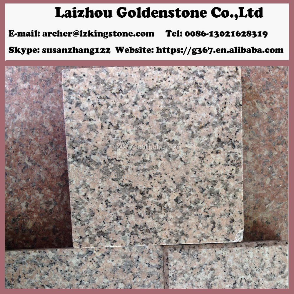 paving tiles---cherry-flower red granite G367
