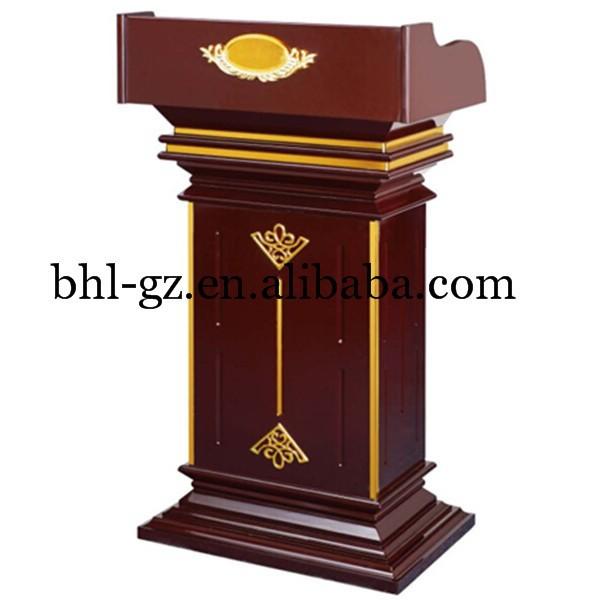 Guangzhou al por mayor en l nea hotel muebles de madera atril podio madera p lpito de la iglesia - Muebles atril ...