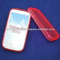 for Samsung galaxy s3 I9300 clear Glassy mobile phone case