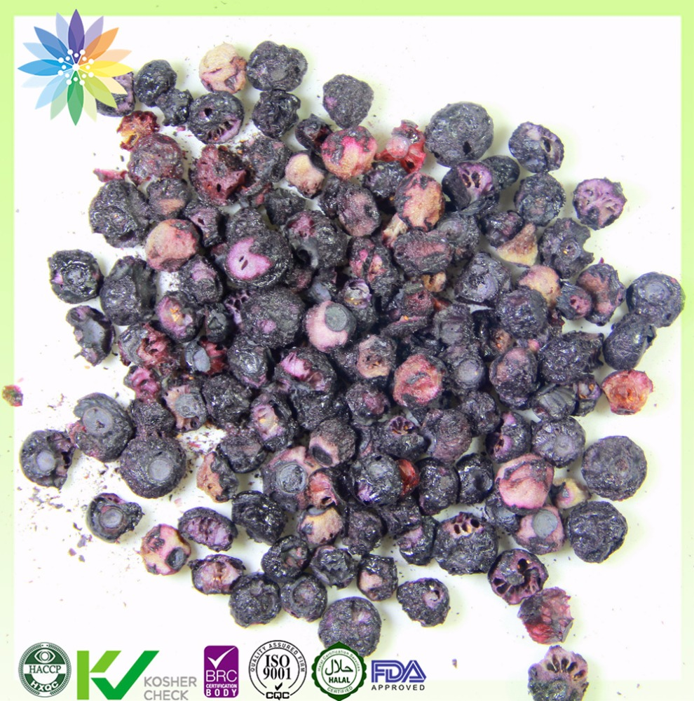 sweet foods of Freeze Dried blueberry dried fruits