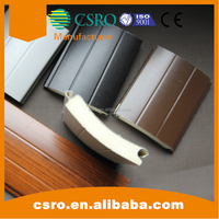 77mm roll up shutter door panel with tubular motor