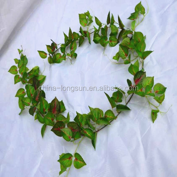 LSD-201608311242 Artificial Fake Hanging IVY Vine Grape Vine Garland
