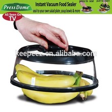 Food Seal Vacuum fresh Cover /Stretch vacuum seal dome Lid