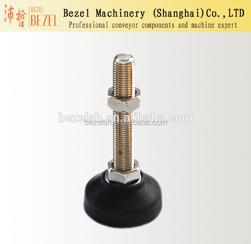 Special supportion foot for packing machine