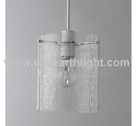 UL CUL Approved Kitchen Fixture Light Hanging On Ceiling With Cylinder Glass Shade And Edison Bulb C30076