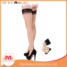 MAORUN-90770 ladies in seamed stockings