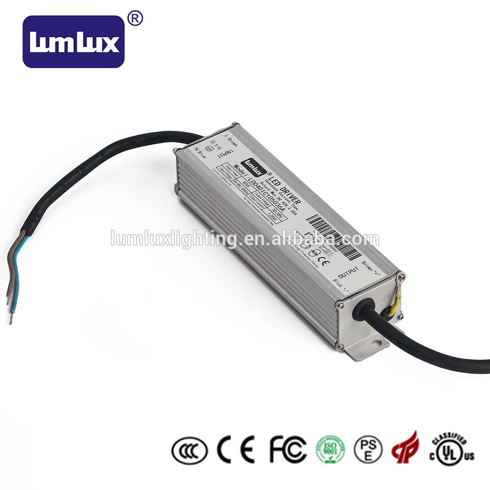40W Lumlux constant current led power supply in Suzhou near Shanghai 40W