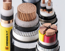 Low Voltage 0.6/1kV 4 core 35mm2 Copper (Cu)/ XLPE insulated / Steel Tape Armored / PVC Power Cable