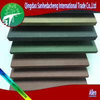Top sale 4'X8' China home decor dark green shadow wall melamine/furniture board/china supplier