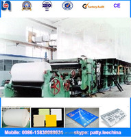 New condition A4 paper making machine, waste paper recycling machine