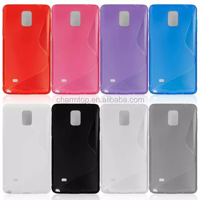 S Line Gel TPU Case For Samsung Galaxy Note 4