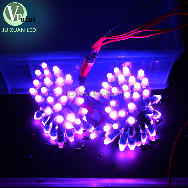 China factory 12v 12mm bullet dmx led pixel light for festival decoration