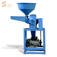 Cassava Corn Mill Grinder Cereal Crushing Machine/ Dry And Wet Grain Pulverizer