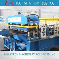 Trapezoidal roofing metal profile roll forming equipment