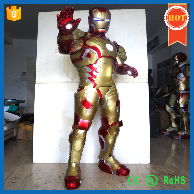 Customized Anime Cosplay Costumes for Women Iron Man Costume
