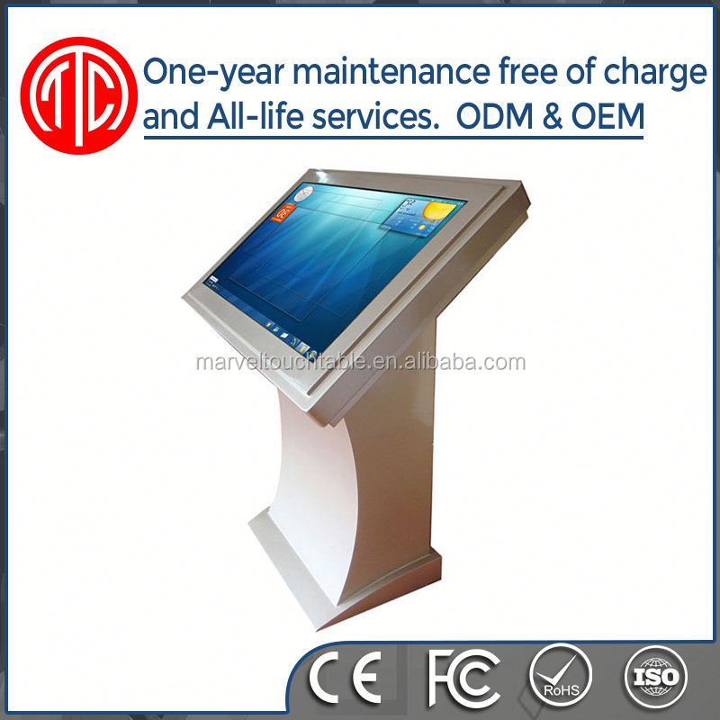 Smart vertical HD TFT vertical lcd 42 inch floor standing advertising digital banner signage
