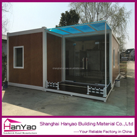 Cheap Price 20ft Customized Luxury Prefab Home Insulation Living Container House