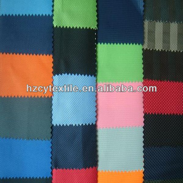 Different weight waterproof polyester Oxford fabric