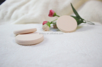 Round shape Yes Washable and Sponge Material natural latex free sponge