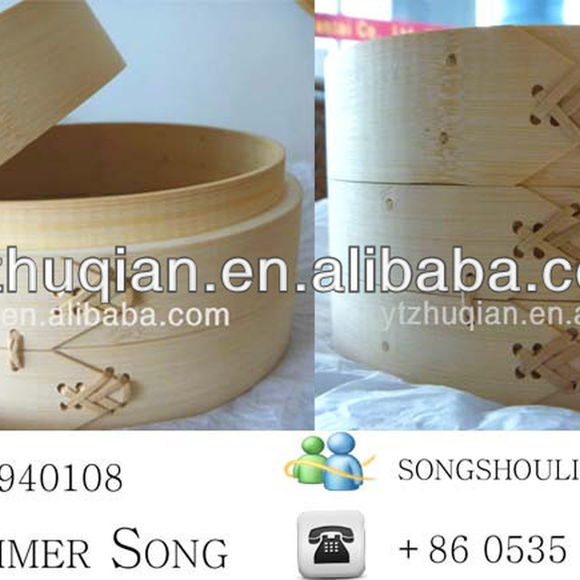 Best Chinese Cheap High Quality Bamboo Bread Steamer with High Quality