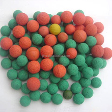 17mm rubber sponge balls for pipe cleaning