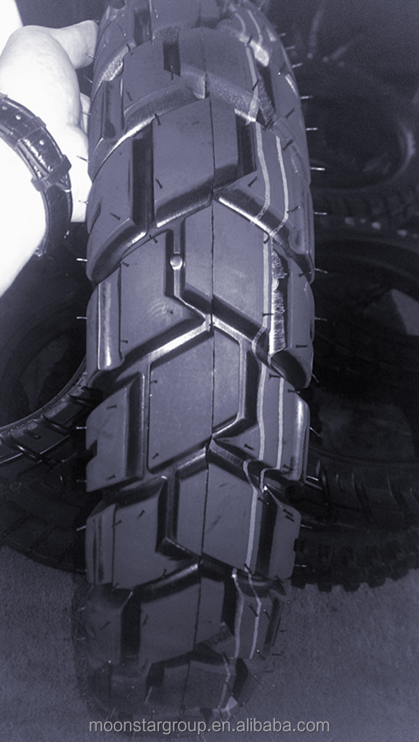new tread pattern for motorcycle tire 4.10-18