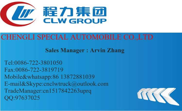 CLW 3 axis liquefied gas transport trailer,59.6cbm