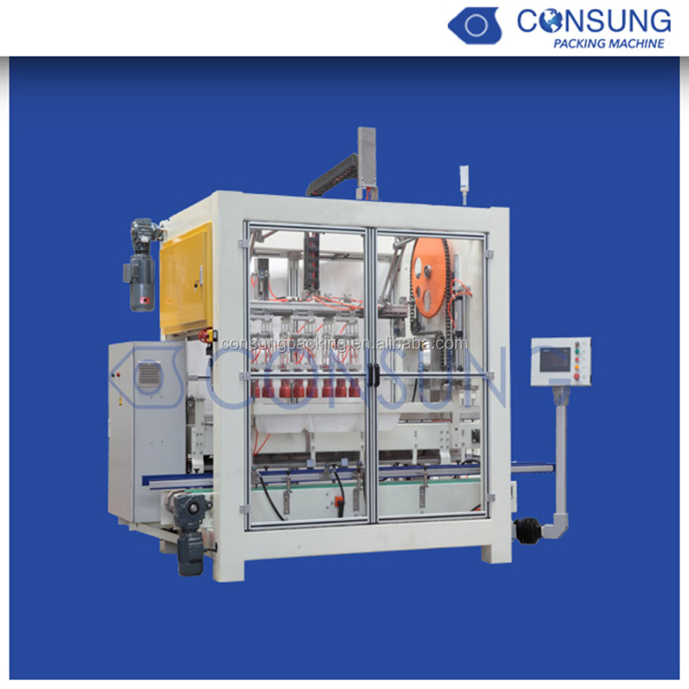 Automatic tomato paste cans carton packing machine
