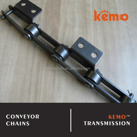 P=75mm d1=31.8mm large roller type conveyor chain
