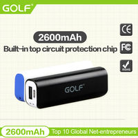 GOLF power bank universal phone charger multi cell phone super charger
