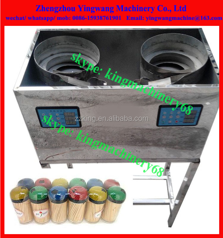 plastic toothpick filling/ packing machine