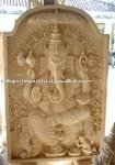 Ganesha Reliefstone carving