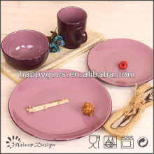 ceramic complete sets dinnerware rustic tableware porcelain