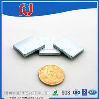 China supplier high quality hot sale 40*10*5mm n35 block neodymium magnet