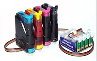 Lifei compatible for Epson T10/T11/T13/T20 CISS(Continuous Ink Supply System) for T0731N/T0732N/T0733N/T0734N cartridges