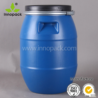 30Liter HDPE blowing molding plastic barrel with Screw Lid