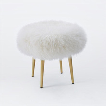 Tibet Lamb Fur Throw Pillows