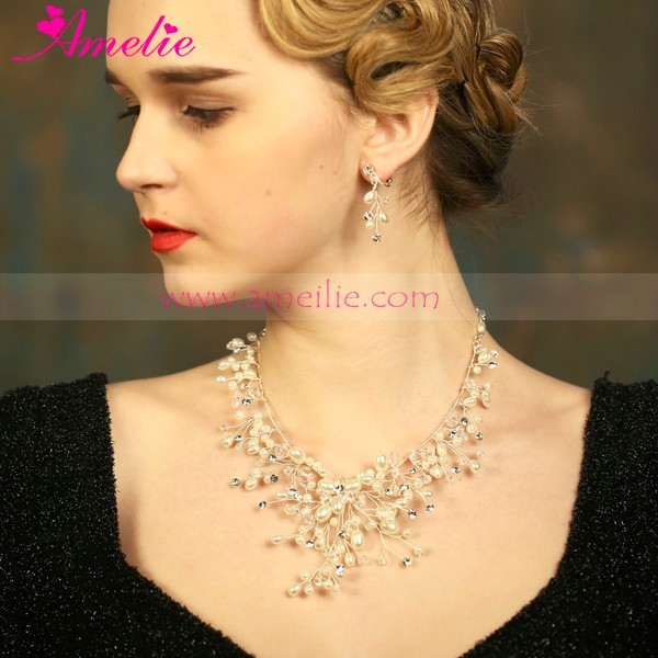 2016 Wedding Favors Imitation Pearl Jewellery Necklace for Wedding