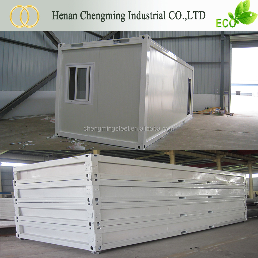 Metal Frame Popular Ecofriendly Prefabricated House For Accommodation/Temporary Living/Office