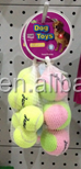 Tennis balls, mix loading dog toys with reasonable price (Factory )