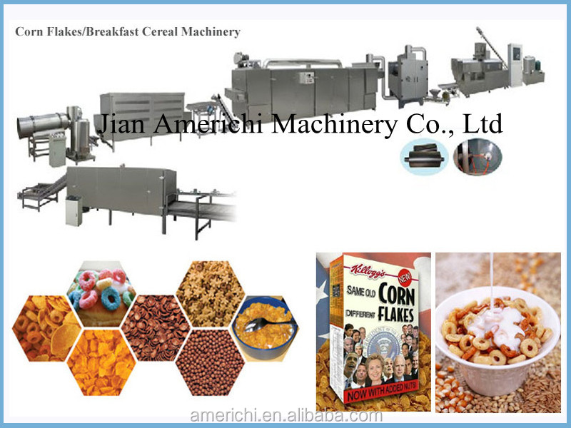 Frosted Nestle Kelloggs Corn Flakes Machine